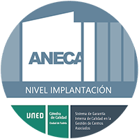 Logo. Sello ANECA. NIVEL IMPLANTACIÓN.