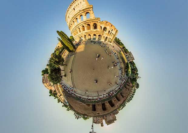 Curso de verano 2020 presencial/online. VIDA Y COSTUMBRES DE LOS ANTIGUOS ROMANOS (coliseo Roma superposición de imágenes)