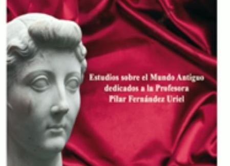 Presentación de Libro homenaje a la profesora Pilar Fernández Uriel. Libro homenaje PVRPVREA AETAS. Busto antguo.
